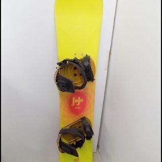新札幌発 K2 JUJU SLIM スノーボード板 138㎝ ビンディング付 の画像
