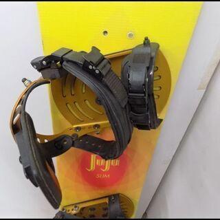 新札幌発 K2 JUJU SLIM スノーボード板 138㎝ ビンディング付  - 札幌市