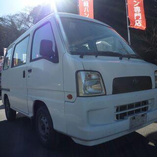 (ID2853)軽バン専門店在庫50台 15万円 スバル サンバ...