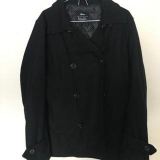 Pコート 黒 Mサイズ