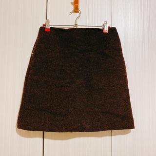 UNIQLO ウールブレンドミニスカート
