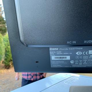 パソコン用モニターとして使用してました。の画像
