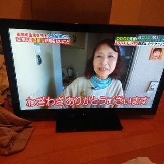 32型Panasonic液晶テレビ明日には金額戻します - 上山市