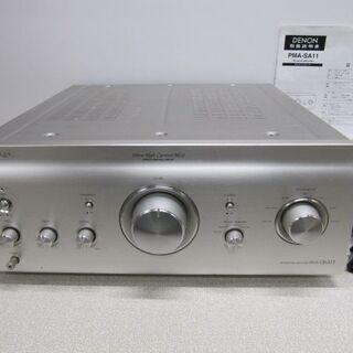 🔊DENON PMA-SA11 プリメインアンプ 音出しO…