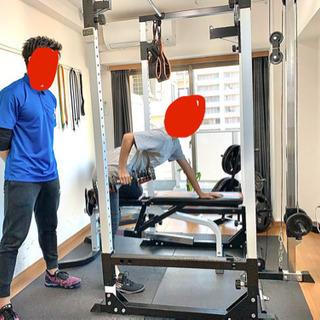 パワーラック トレーニング用品一式の画像
