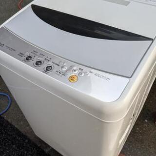 洗濯機5k(名古屋市近郊配達設置無料)