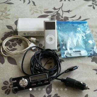 《値下げしました》iPod nano 2GBとFM -Tr…