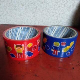 レゴのテープ赤&青セット中古