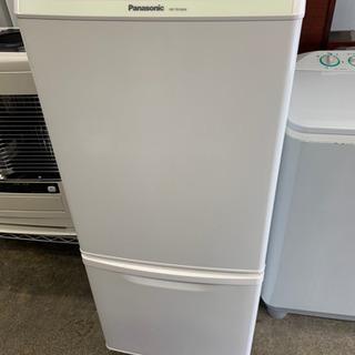 パナソニック 冷蔵庫 138L  2ドア 耐熱性能天板 ボ…