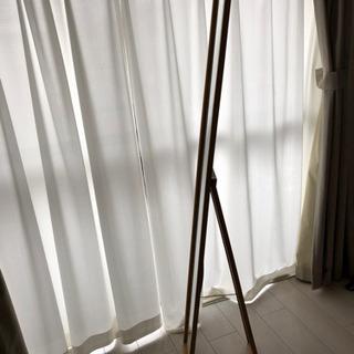 姿見鏡 ナチュラル木製 30-152cm