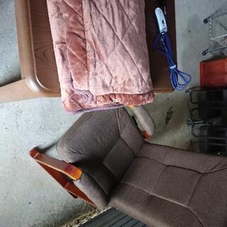 ハイタイプこたつ❗リクライニング椅子付き