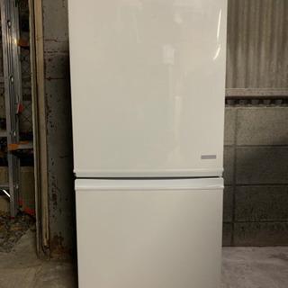 『送料無料』☆SHARPノンフロン冷凍冷蔵庫☆SJ-C14C-W...