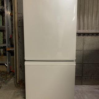『送料無料』☆SHARPノンフロン冷凍冷蔵庫☆SJ-D14B-W...