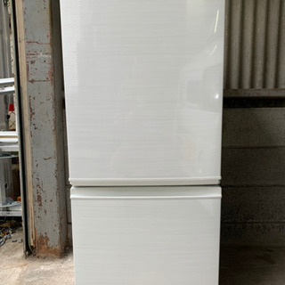 『送料無料』☆SHARPノンフロン冷凍冷蔵庫☆SJ-D14E-W...