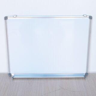 ホワイトボード アルミ枠  600×450mm [114-8]