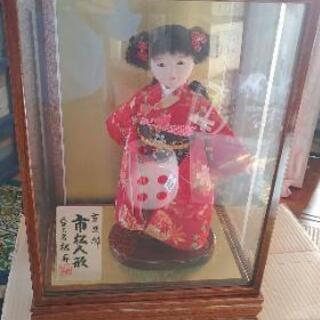 【ネット決済・配送可】良品☆可愛い市松人形 人形工房 松寿 保管品