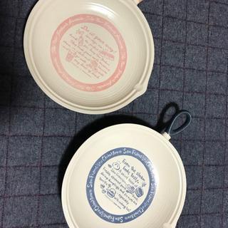 パスタ、カレー皿2枚セット