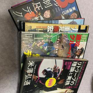 釣り雑誌付録DVD 6枚