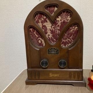 【レトロ】ラジオ