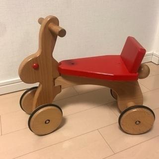 コイデ ラビット 子ども 乗用玩具 室内乗り物 うさぎ 木製乗り...