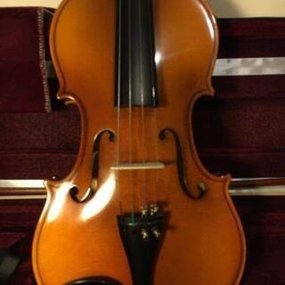 【ネット決済・配送可】[定価25万円]新品工房製 バイオリン 4...