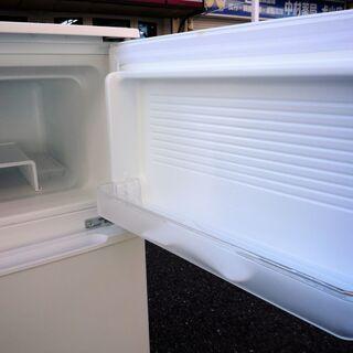 ☆ヤマダ YAMADA YRZ-C09B1 Herb Relax 90L ノンフロン2ドア冷凍冷蔵庫◆2017年製・手頃なサイズ感 - 横浜市
