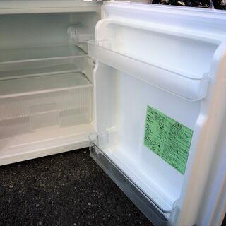 ☆ヤマダ YAMADA YRZ-C09B1 Herb Relax 90L ノンフロン2ドア冷凍冷蔵庫◆2017年製・手頃なサイズ感 - 家電