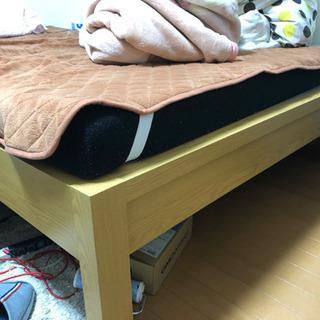 ベッドフレーム ベッド ダブルサイズ