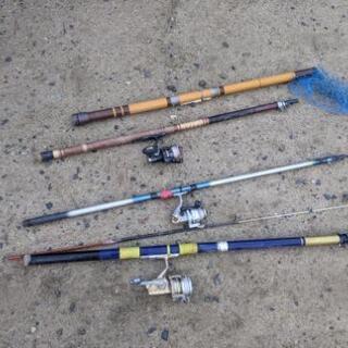 古い釣り道具
