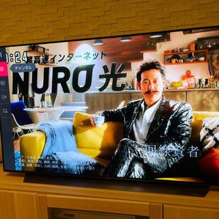 LG有機EL4Kテレビ!55インチ極薄