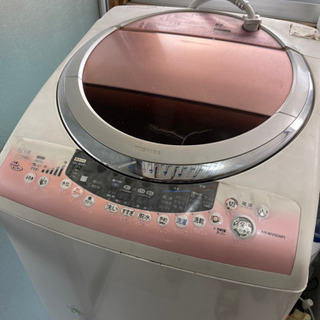 古い洗濯乾燥機