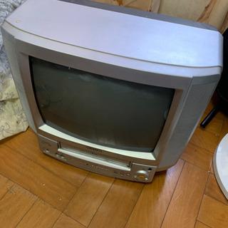 ビデオデッキ内蔵ブラウン管テレビ