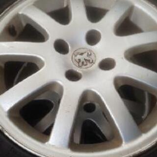 【値下げ】PEUGEOT ホイール&タイヤ  新品ワイパー…