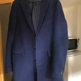 beams コート ブルー sサイズ