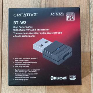 【値下げ!未使用、新品】クリエイティブ BT-W2 Blu…