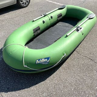 Achilles 4人乗りゴムボート、販売中!【SP1758】