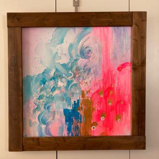 【ネット決済】絵画 水彩画 壁掛けアート インテリア雑貨