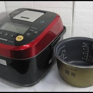 新生活!9900円 パナソニック スチーム&可変圧力IH 炊飯器...