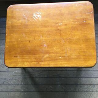 【ネット決済】折脚集成材テーブル1脚