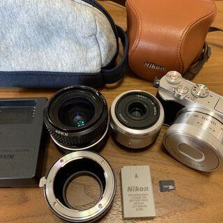 【ネット決済・配送可】⭐︎大幅値下げ Nikon Nikon1 ...