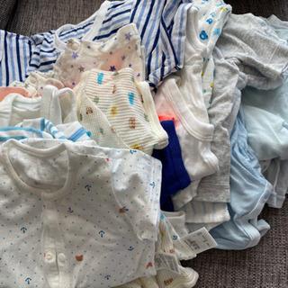 男の子新生児服まとめ売りの画像