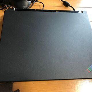 富士ハウスからもらった IBMノートパソコン(ジャンク品)