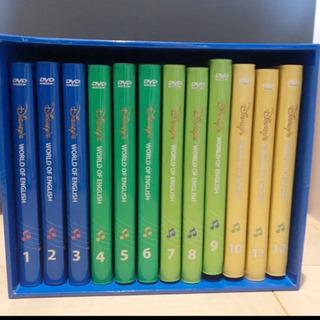 DWE ディズニー英語システム DVD (9巻ケースのみ、ディス...