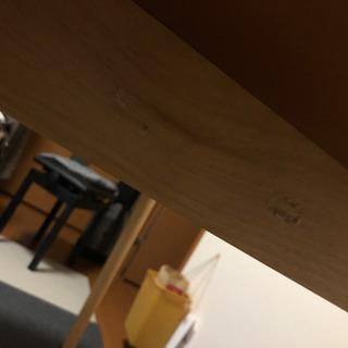 オーク ダイニングテーブル 長方形 - 家具