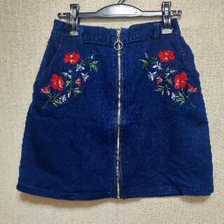 Priuate Pause 刺繍スカート