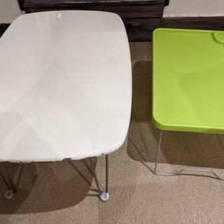 2個セット折り畳みテーブル