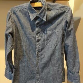 デニムシャツ レディース服
