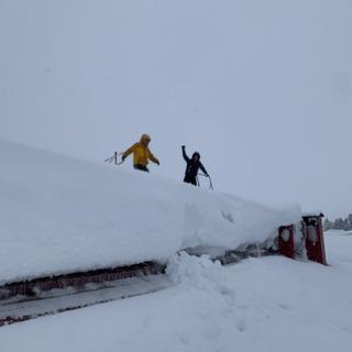 塗楽建装 雪降ろし作業承ります!