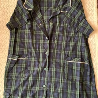 【大きいサイズ:4L】半袖授乳口つきパジャマ