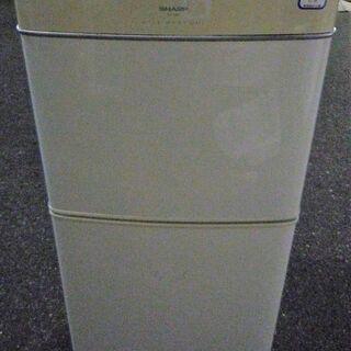 ☆シャープ SHARP SJ-14G 140L 2ドア冷凍冷蔵庫...